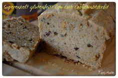 Tasty Health: Superenkelt glutenfritt low carb cashewnötsbröd