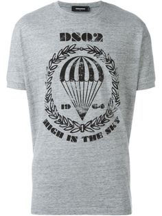 DSQUARED2 Parachute Crest T-Shirt. #dsquared2 #cloth #t-shirt