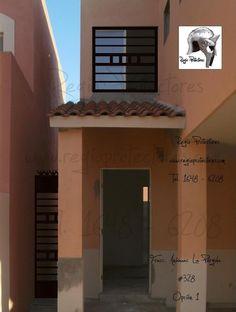 Protectores para ventanas y puertas, Fracc. Anáhuac La Pérgola, Planos y montajes Opciones 1 y 2, #328