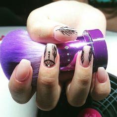 Dream catcher nails By: Andreia Gouveia