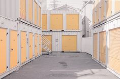 "janvranovsky: "" Yellow doors in Asakusa, Tokyo | © Jan Vranovsky, 2015 """