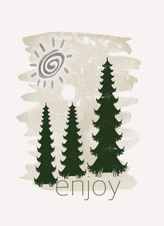 Enjoy - Holiday Cards by Grimalkin Studio / Kandy Hurley  #Cards #Christmas #Holiday @grimalkinart