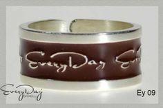 #anello #marrone #rings #brown #silver www.fashiongoldgi... $109