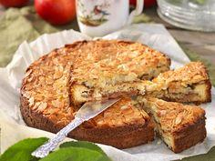 Kaneldoftande äppeltosca Baking Recipes, Cake Recipes, Dessert Recipes, Kitchen Confidential, Fika, Food Cakes, Something Sweet, No Bake Desserts, Diy Food