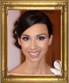 #Makeup for #brown eyes, #wedding makeup brown eyes, #purple wedding makeup   by Toronto Makeup Artist, Colette