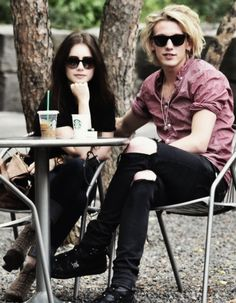 jamie and lily, gorgeous people.