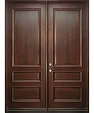 Image result for old wooden square double door