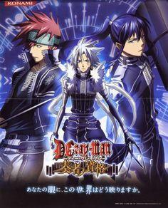 ✿ Título / Title:D-Gray Man ✿ Episodios / Episodes: 103 ✿ Idioma / Language: Japones/ SubEspañol ✿ Año / Year:2006 - 2008       OPCI...