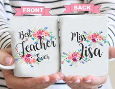 End of year teacher mug, Worlds Best Teacher, Back to school, Teacher Mug, Gifts for Teacher, Teacher Coffee Mug, Worlds best Teacher Mug by BushelOfLove on Etsy