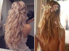 10 penteados para casamento na praia