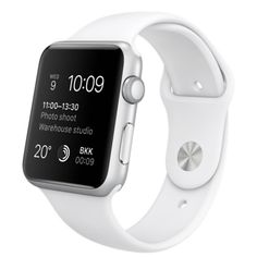 Apple Watch is the ultimate device for a healthy life. Choose from a range of models including Apple Watch Series 2 and Apple Watch Series Apple Watch White, Buy Apple Watch, Apple Watch Series 3, Apple Watch Bands, Apple Watch Silver, Smart Watch Apple, Apple Watch Models, Apple Watch Sport 42mm, Tablet Android