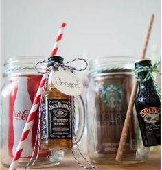 The Original DIY Mason Jar Cocktail Gifts!- The Original DIY Mason Jar Cocktail Gifts! Gift for the men - Diy Christmas Gifts, Christmas Fun, Holiday Crafts, Holiday Fun, Christmas Decorations, Christmas Quotes, Homemade Xmas Gifts, Xmas Gifts For Him, Valentine Gifts Ideas