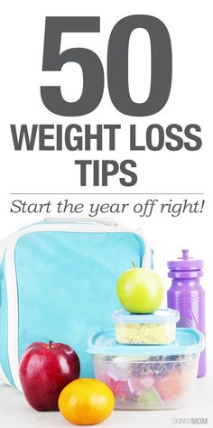 50 ways to keep the weight off in 2015.