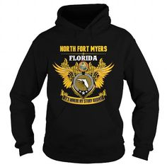 Awesome Tee  NORTH FORT MYERS-FLORIDA STORY14 1510 T shirts