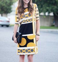 Totally Twiggy Mod Dress. Pick light comfy fabric! Weekend Project. Level: easy!!! Free pattern online