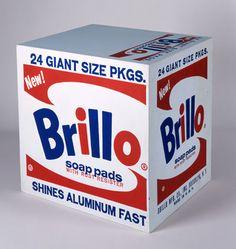 Andy Warhol, Brillo Soap Pads Box, 1964