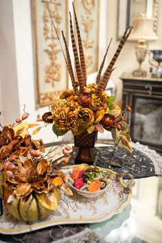 This special time of the year marks the beginning of the fall season for Linly Designs. We are looking forward to sharing all of our fall décors with you! Home Decor Floral Arrangements, Flower Arrangements Simple, Fall Home Decor, Autumn Home, Thanksgiving Decorations, Halloween Decorations, Elegant Fall Decor, Autumn Decorating, Fall Crafts