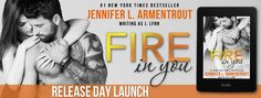 Romance and Fantasy for Cosmopolitan Girls: J. Lynn's, FIRE IN YOU Release Day