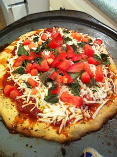 Paleo Butterfly: Paleo Pizza with almond flour