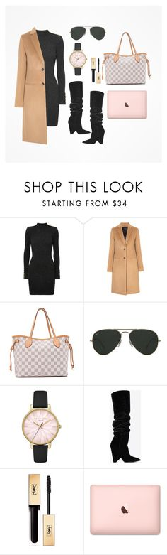 """A style.."" by anasofiavazqueza on Polyvore featuring Balmain, Joseph, Louis Vuitton, Ray-Ban, Ted Baker y Yves Saint Laurent"