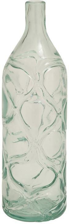 "Bayden Hill Glass Clear Vase 6""W, 18""H"