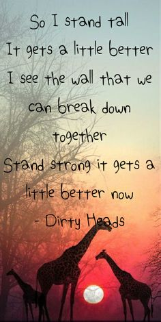 Dirty Heads - Stand Tall #DirtyHeads