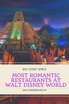 Romantic Restaurants Walt Disney World | Lisa in Wonderland