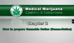 Chapter 02.2. Marijuana Cooking & Extractions - How To Prepare Cannabis Butter (Canna-Butter) with Crockpot