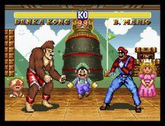 Mario Street Fighter.....baaaaaacicalllllllllllyyyyyyy smash bros.