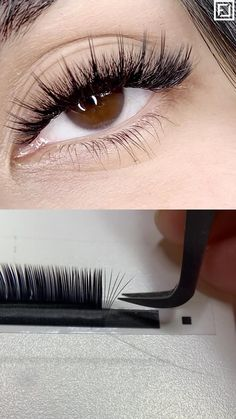 M-Curl eyelash extensions have taken the lash world by storm in the last couple of years. Compared their sister the L Curl, they have a straight base which is slightly shorter, which then curves more gently into a straightish, upward-pointing curl. M Curls really open-up the eye and are so versatile, they suit almost any eye shape! #lashextensions #mcurllashes #lashartist #eyelashextensionstips Curl Lashes, Curling Eyelashes, Volume Lashes, False Eyelashes, Eye Shapes, Eyelash Extensions, Curls, Suit, Base