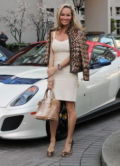 Reiko MacKenzie from the Real Housewives of Vancouver was recently spotted with her Ferrari GTO