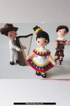 #Venezuela Venezolanitos Gifts for children, Baby Toddler, birthday baby, toy educational ,toys Waldorf summer finger puppets traditional dolls toys theater Set of 5
