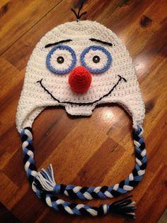 Olaf Crochet Hat by Designzbycathy on Etsy