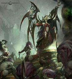 BRNext Nov15 Morathi372j3 Fantasy Races, High Fantasy, Fantasy Rpg, Medieval Fantasy, Dark Fantasy Art, Fantasy Girl, Fantasy Artwork, Warhammer Dark Elves, Warhammer Fantasy