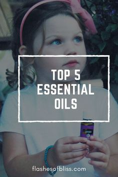 Find out about the top 5 essential oils and how to use them!
