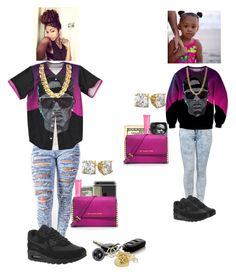 """""""Matching with my niece"""" by queen-miy ❤ liked on Polyvore featuring NIKE, Beauty Rush, MICHAEL Michael Kors and Fantasy Jewelry Box"""