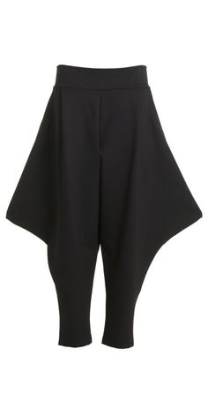 Xenia Design Black Kose Wide Point Trouser from idaretobe UK Stockist