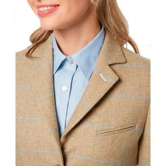 Save 30% on the Really Wild Aston Dress Coat - use code ERW16 - Ends Midnight 22/05/2016  #tweed Shooting Clothing, Cool Countries, Country Outfits, Coat Dress, Tweed, What To Wear, Blazer, Female, Clothes For Women