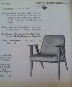 4 fotele z PRL, które musisz znać! | Conchita Home