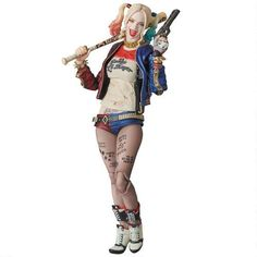 DC Comics Suicide Squad Harley Quinn figure from DC Collectibles
