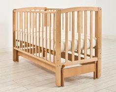 Кроватка с маятником Angela Bella Бьянка (натуральный)  — 6940р.