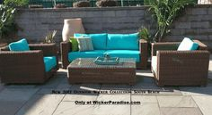 Newest collection from Wicker Paradise: Get your Patio Ready!