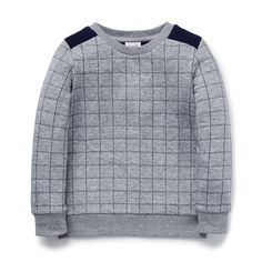 Shop now: Quilted Sweater. #seedheritage #seedchild
