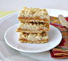 Caramel Crumb Bars