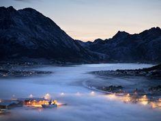 NORWAY. Vesterålen. Myre harbour. - Jonas Bendiksen Takes Photos in Countries That Don't Exist | VICE