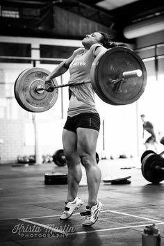 NOTICE STEADY GAINS IN YOUR CROSSFIT. Clean crossfit