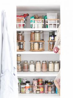 Nutrition Stripped | Creating a Healthy Organized Pantry