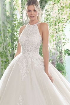 Mori Lee Angelina Faccenda 1728 Primavera Wedding Dress Hochzeitskleid Source by VintagePoetry moda Top Wedding Dresses, Elegant Wedding Dress, Bridal Dresses, Wedding Gowns, Bridesmaid Dresses, Tulle Ballgown Wedding Dress, Tulle Dress, Elegant Dresses, Sexy Dresses