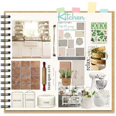 Mood Board by terry-tlc on  Polyvore  #kitchen