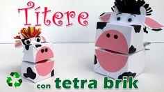 Manualidades: Títere con Tetra Brik - Manualidades Para Todos